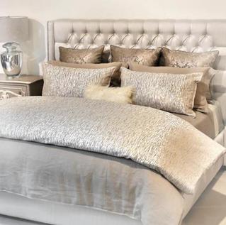 DANIEL STUART STUDIO Maroco Flax bed linens