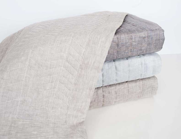 HOME TREASURES Chester quilted coverlet