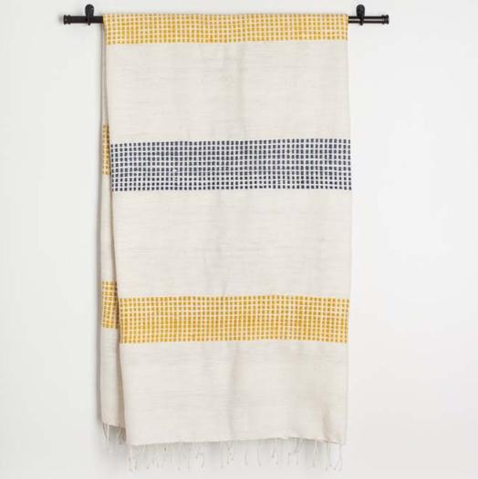 CREATIVE WOMEN dotted cotton bath towel