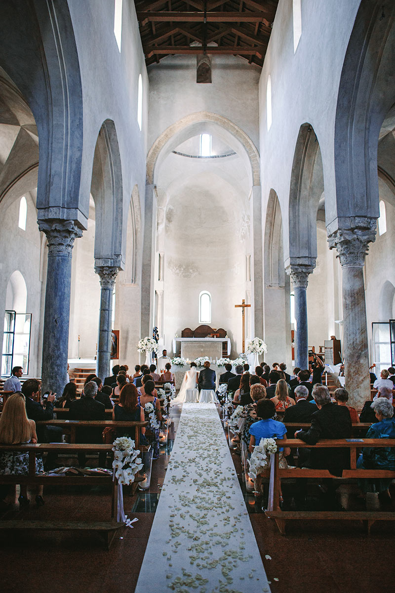 Catholic wedding in Ravello