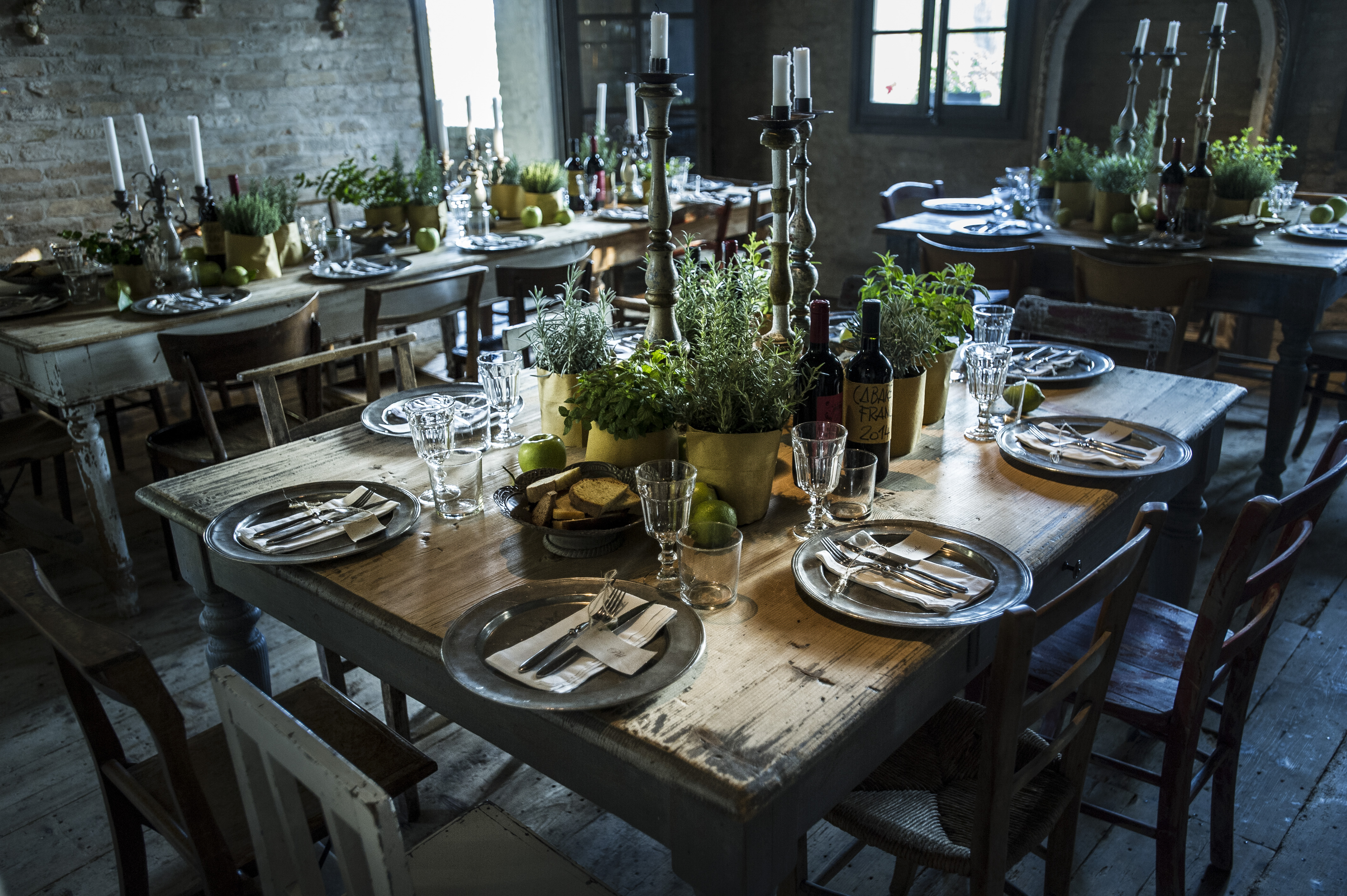 Rustic wedding location