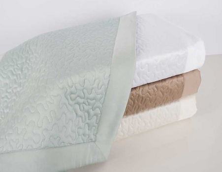 HOME TREASURES Vermicelli quilted coverlet