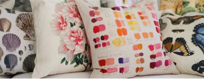 DESIGNERS GUILD John Derian Accent Pillows