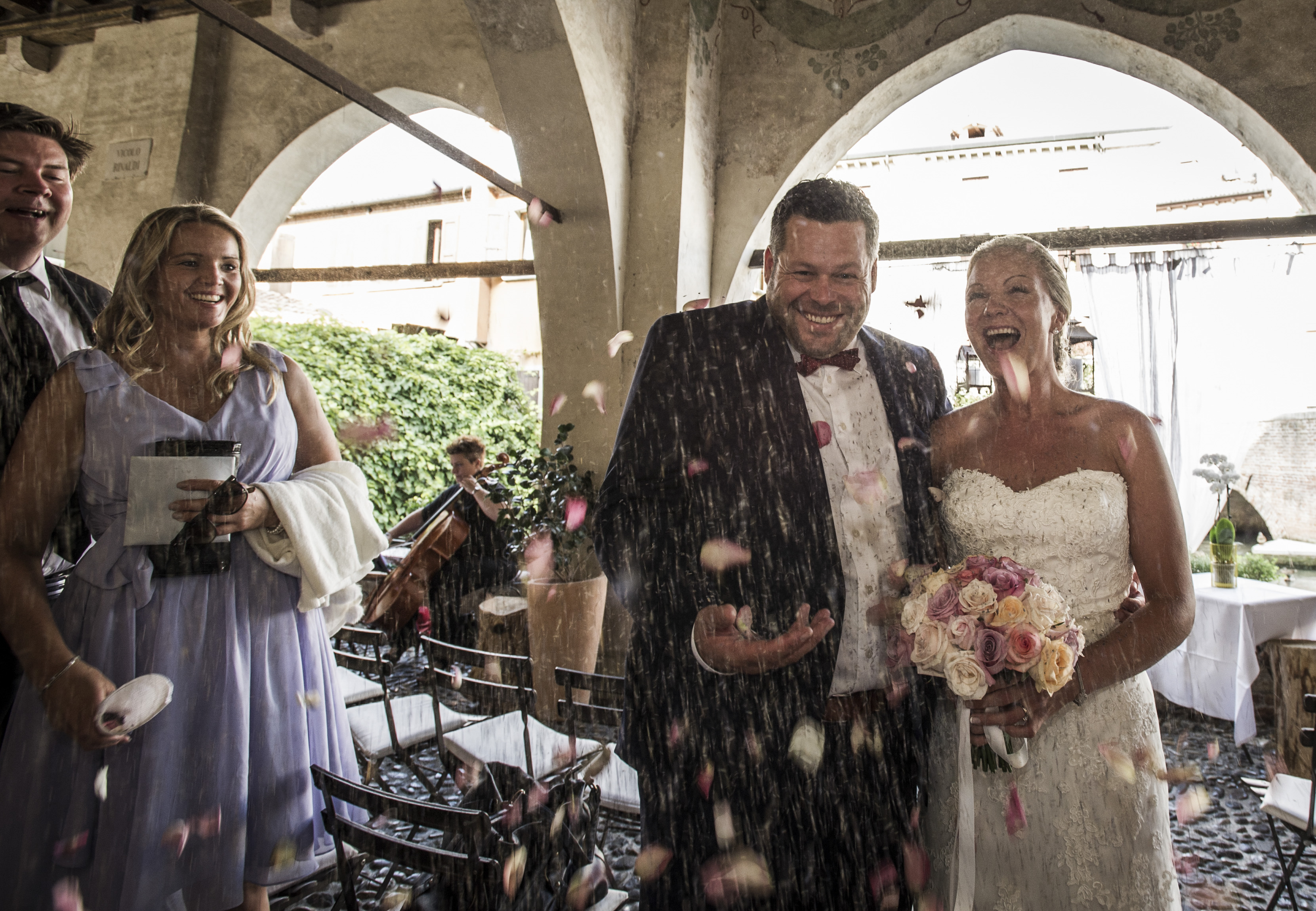 Norwegian wedding in Italy