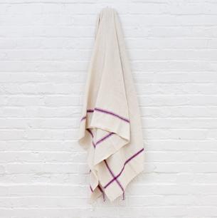 CREATIVE WOMEN Hatch cotton bath towel