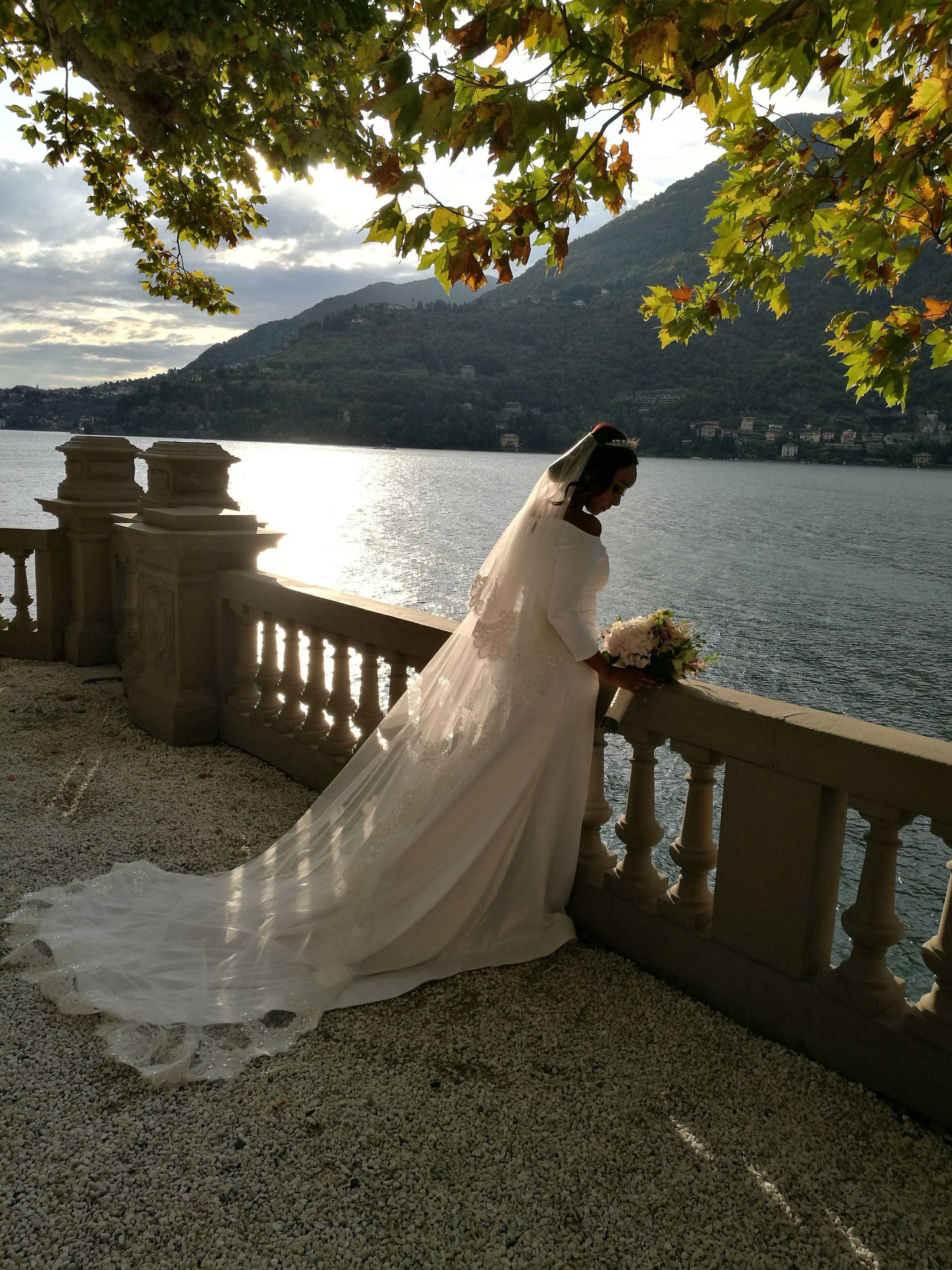 Amaal Abukar Wedding on Lake Como