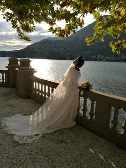 Amaal Abukar Wedding on Lake Como