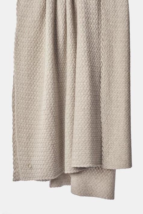 OYUNA Scala lattice knitted cashmere bei