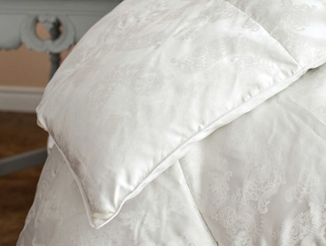 ST GENEVE Eiderdown duvet with silk cover