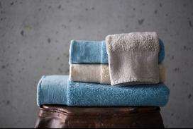 ABYSS Abelha cotton towels