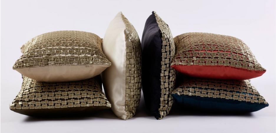 ANN GISH accent pillows
