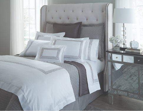 HOME TREASURES Stella bed linens