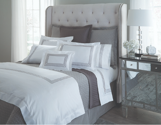 HOME TREASURES Stella bed linens