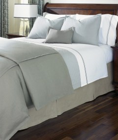 LEGACY HOME Jefferson bed linens