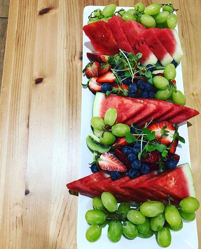 Summer fruits from Sunbury fruit market