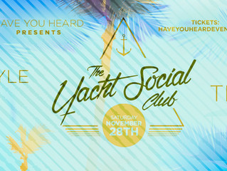 Alan Thomas headlines The Yacht Social Club 004, 006 sells out in record time, 007 date added!