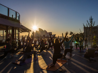 Sunrise Rooftop Yoga & Brekkie hosted by Party Hosts Ready for Wellness