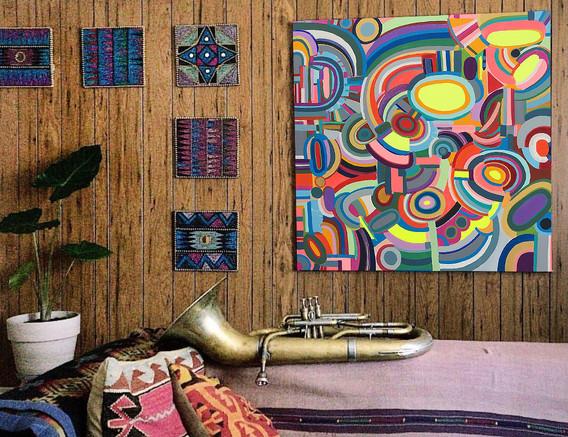 City Brights in Situ - Music Studio