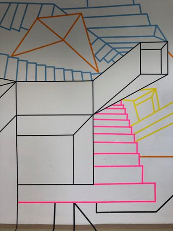 Musical Stairs Closeup