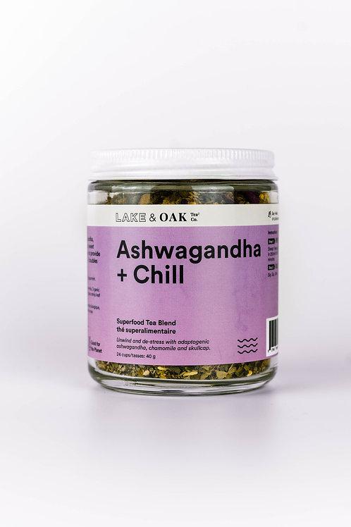 Lake & Oak Tea Co. Ashwagandha + Chill