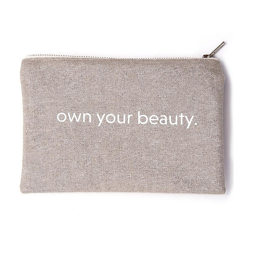 Elate Own Your Beauty Cosmetic Bag