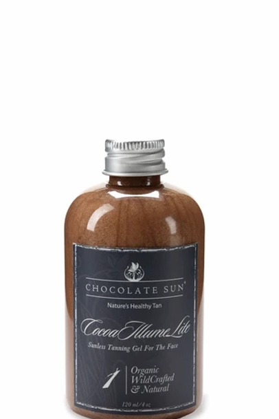 Chocolate Sun Cocoa Illume Lite Tanning Face Gel (fair to medium skin)