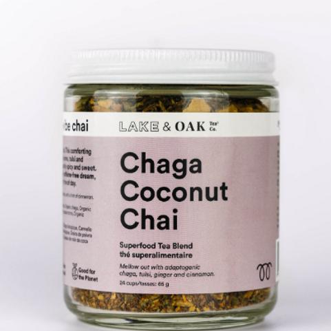 Lake & Oak Tea Co. Chaga Coconut Chai