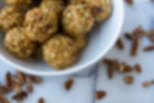 healthy maple pecan oat energy ball recipe