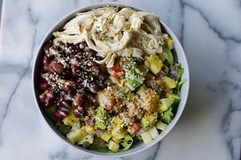 healthy chicken and bean salad recipe