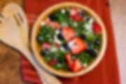berry and feta salad recipe