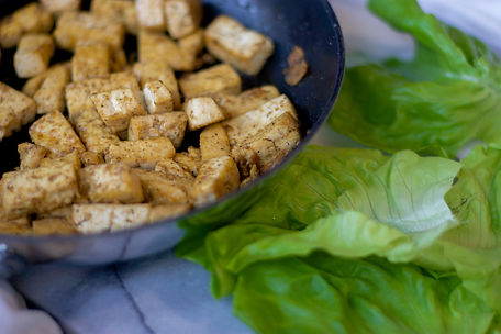 healthy tofu lettuce wraps with as asian slaw recipe vegan vegetarian gluten free