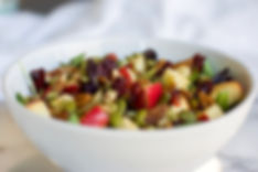 Healthy Fall Apple Pecan Salad Recipe
