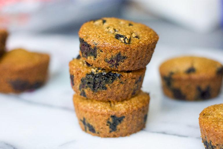 healthy blueberry oat muffn recipe