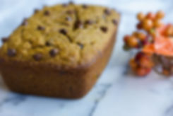 healthy chocolate chip pumpkin bread recipe
