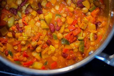Healthy Vegan Chili Recipe Vegetarian Dairy free gluten free