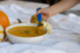 Healthy creamy pumpkin soup recipe dairy free