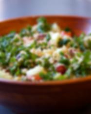 kale quinoa salad side view screenshot_e