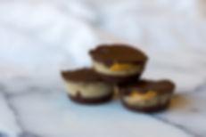 Frozen banana peanut butter cups recipe