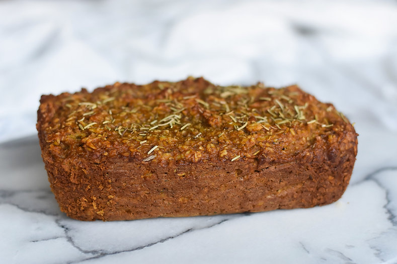 healthy savory sweet potato bread recipe gluten free dairy free nut free no added sugar low sugar