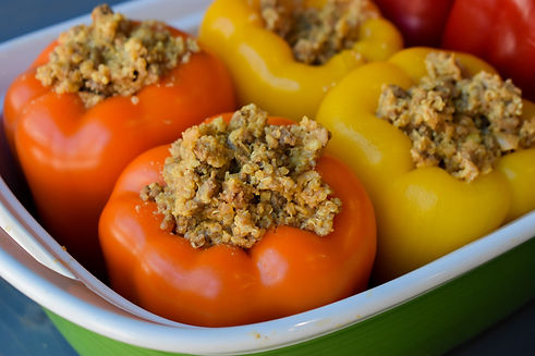 Healthy Stuffed Peppers Recipe with Quinoa