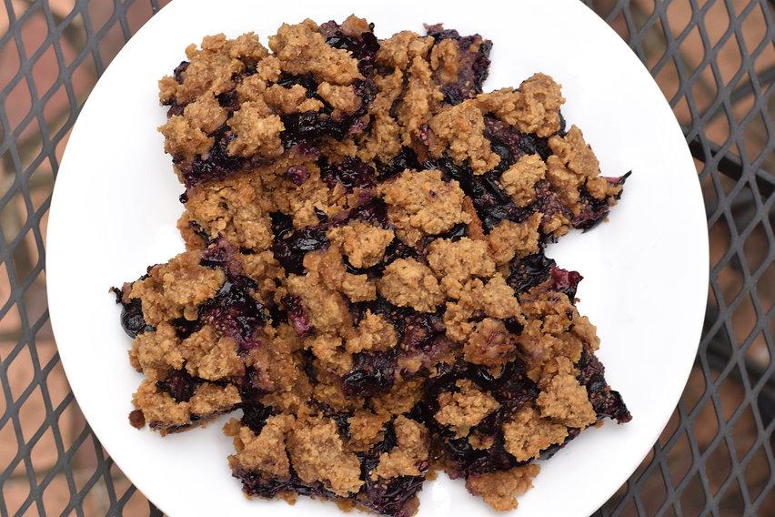 blueberry pie bake gluten free recipe