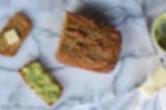 healthy savory sweet potato bread recipe gluten free dairy free nut free no added sugar low sugar