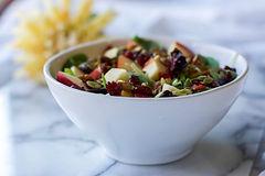 Healthy Fall Apple Pecan Salad Recipe