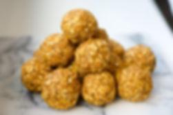 healthy pumpkin pie oat energy balls recipe gluten free