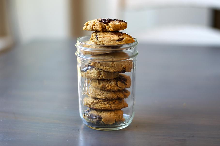 Cookie Dough Gluten Free Chocolte Chip Cookies