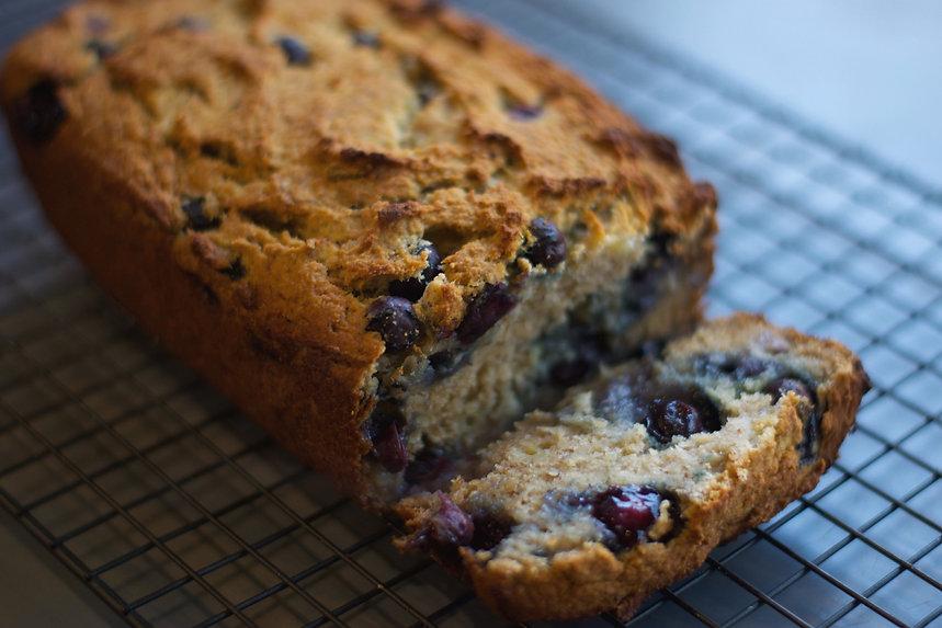 paleo blueberry banana bread recipe