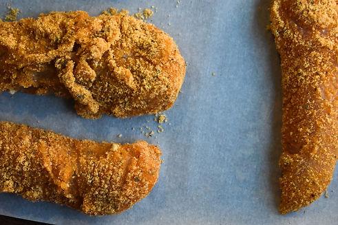 Healthy Paleo Baked Chicken Tenders Recipe