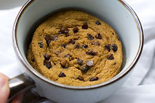 healthy quick pumpkin mug cake paleo recipe