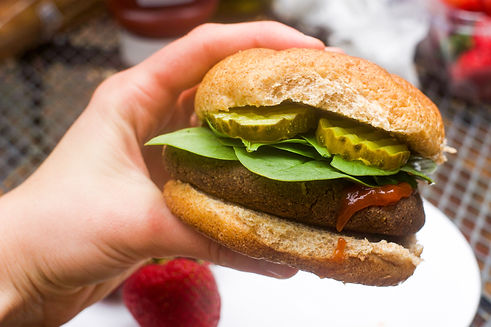 Healthy Black Bean Burger Recipe