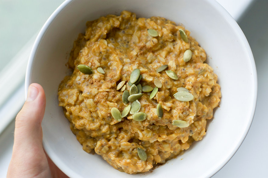 Healthy Fall Pumpkin Oatmeal Recipe